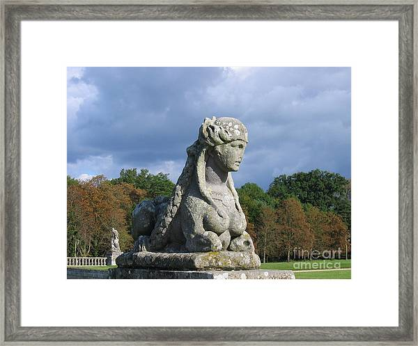 Fountainebleau Twin2 Framed Print