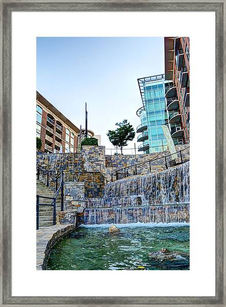 Fountains Framed Print