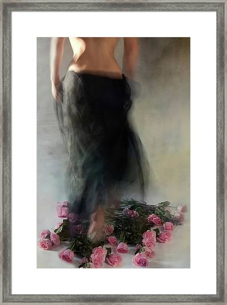 Four Dozen Roses L Framed Print by Miriana