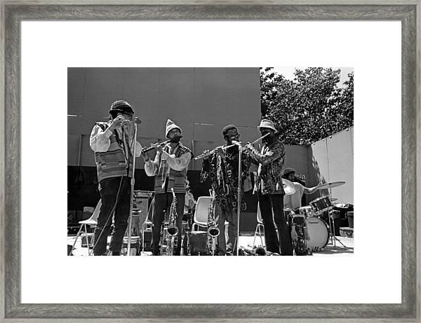 Four Flutes 2 Framed Print