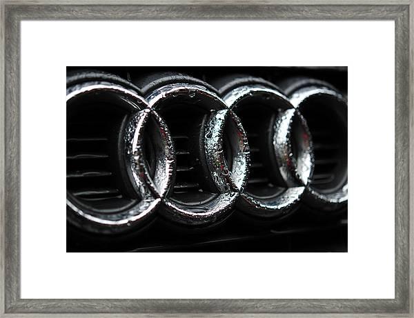 Four Rings Framed Print