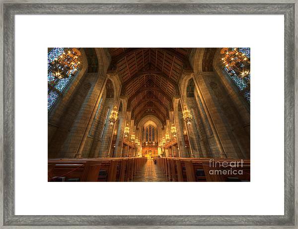 Fourth Presbyterian Church Chicago II Framed Print