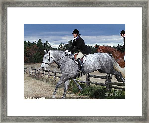 Fox Hunt 4 Framed Print