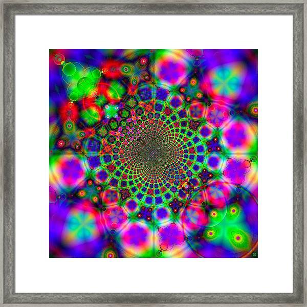 Fractal #11 Framed Print