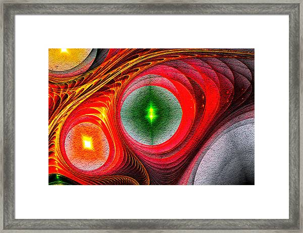 Fractal 86 Framed Print