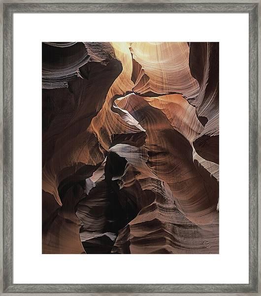 Fractured Light Framed Print