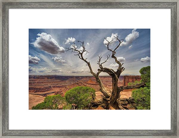 Fractured Framed Print