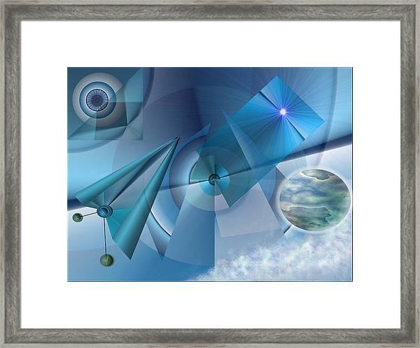 Interdimensional Framed Print