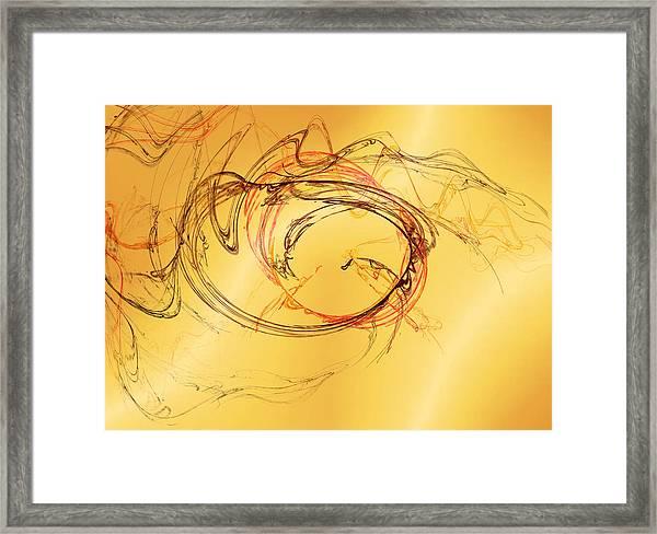 Fragile Not Broken Framed Print