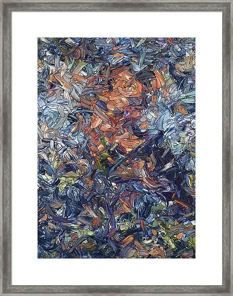 Fragmented Man Framed Print