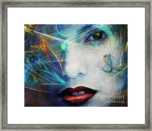 Fragrance Of Love Framed Print