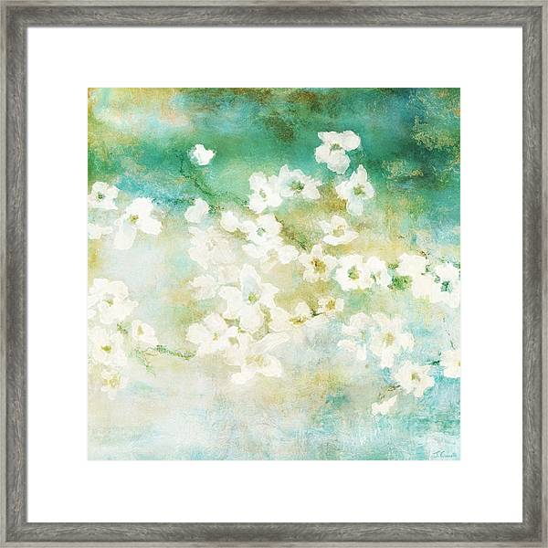 Fragrant Waters - Abstract Art Framed Print