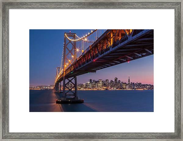 Framing San Francisco Framed Print