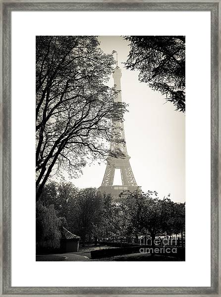 The Eiffel Tower Paris France Framed Print