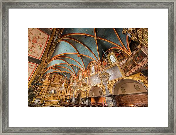 France, Pyrenees Atlantiques, Lestelle Framed Print