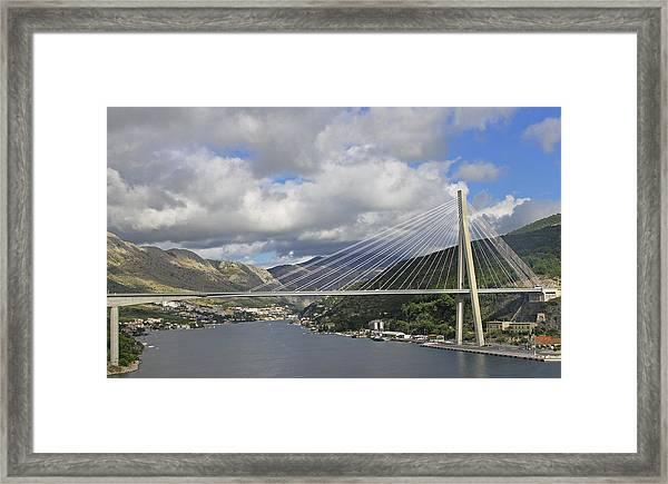 Franjo Tudman Bridge Framed Print
