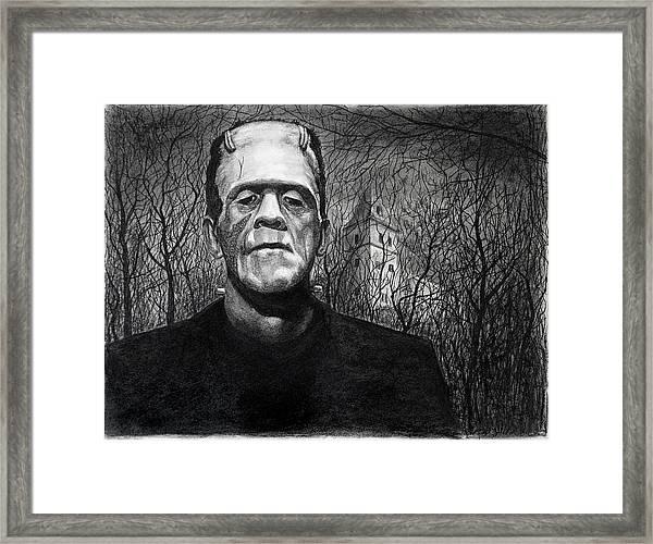 Frankenstein Monster Framed Print