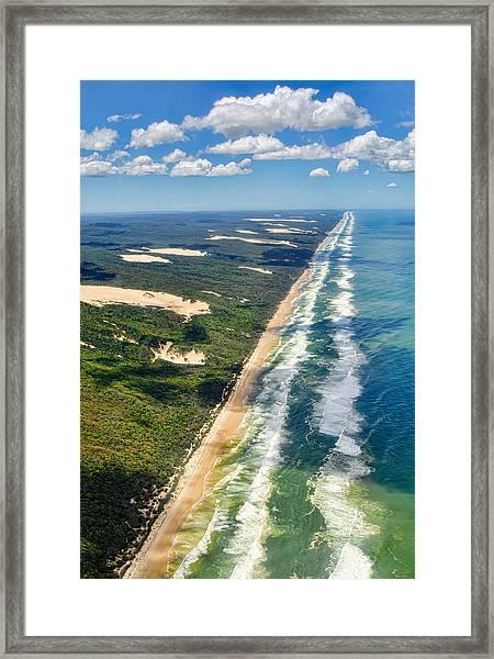 Fraser Island. Queensland Australia Framed Print