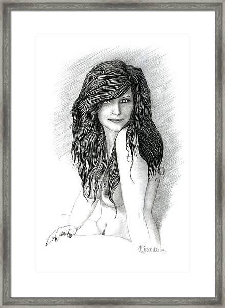 Fraulein 2 Framed Print