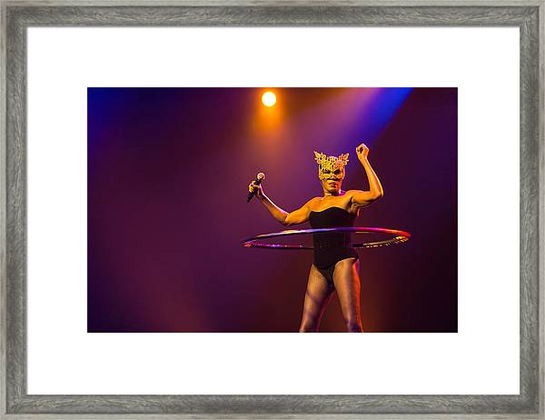 Freak Out Night Dance Party In Montreux Framed Print by A163