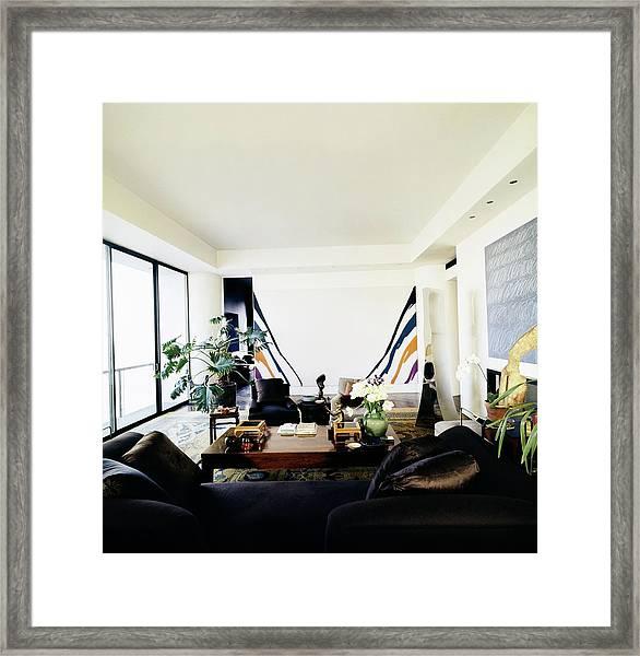 Fred Mueller's Living Room Framed Print by Horst P. Horst