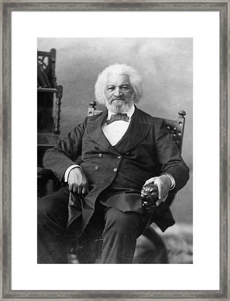 Frederick Douglass(c1817-1895) Framed Print
