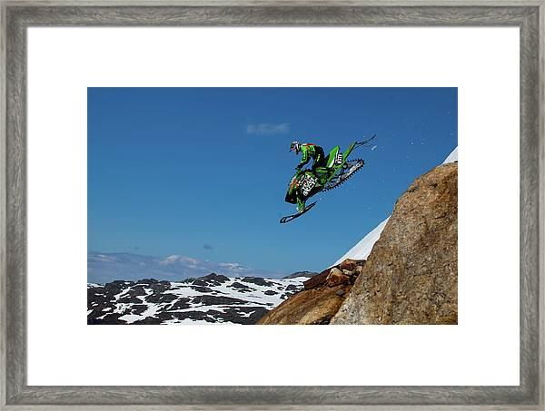 Free Fall Framed Print by Christian Otnes
