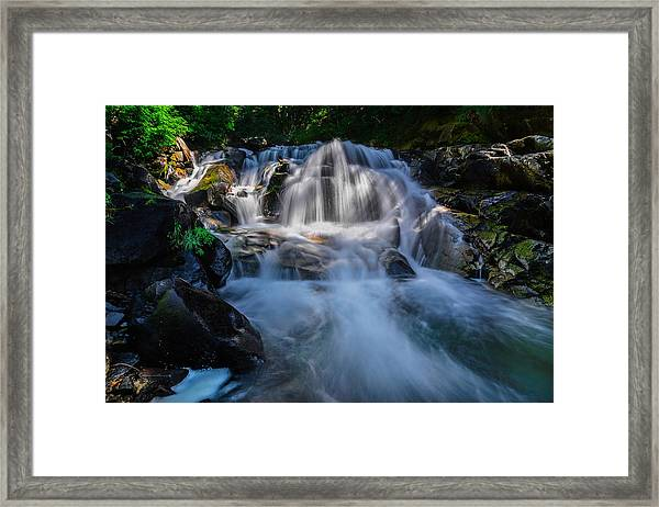 Free Streaming Framed Print