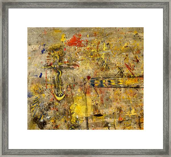 Freedom From Religion Framed Print