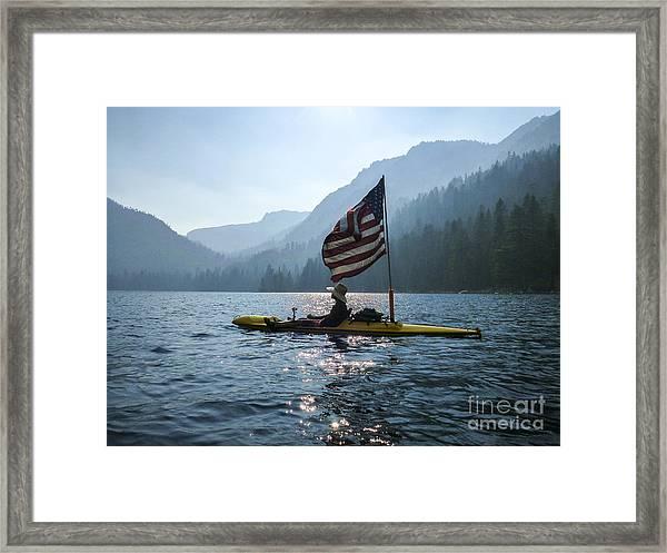 Freedom Of The Sierras Framed Print by Cheryl Wood