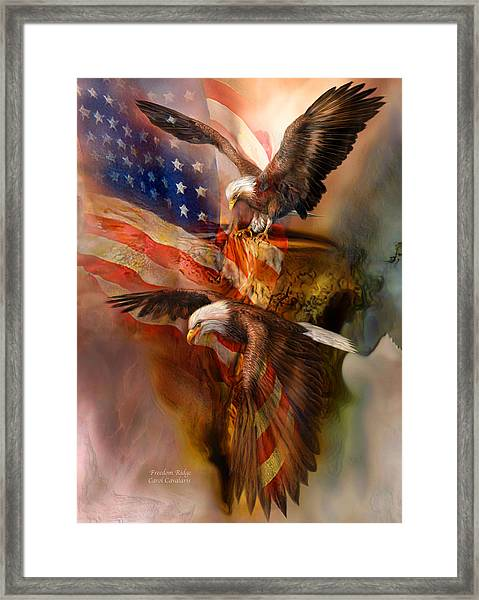 Freedom Ridge Framed Print