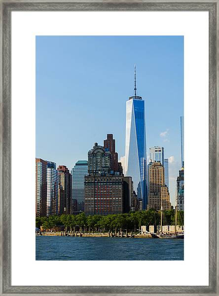 Freedom Tower 2 Framed Print