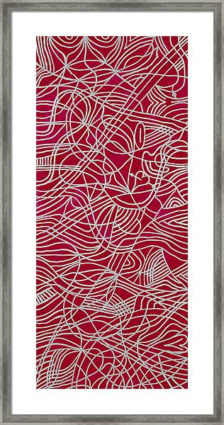 Freeform Framed Print by Patrick OLeary