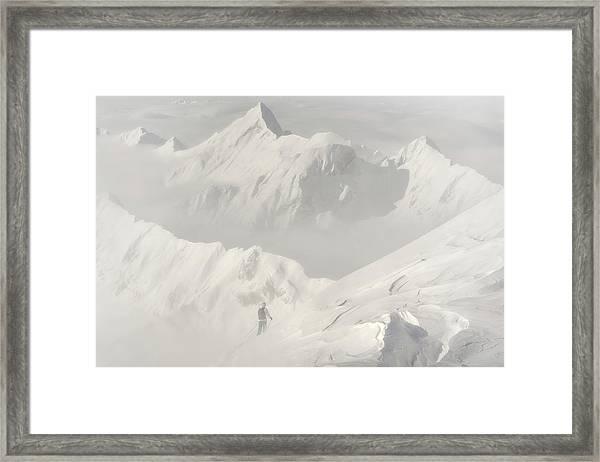 Freeride Framed Print by Margit Lisa Roeder