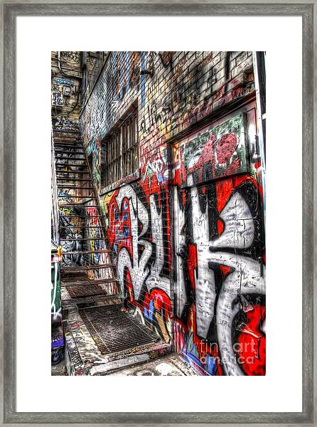 Freestyle Walking Framed Print
