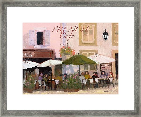 French Country Poster Framed Print