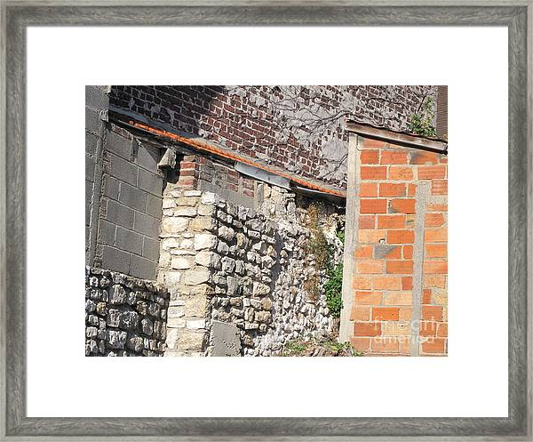 French Farm Wall Framed Print