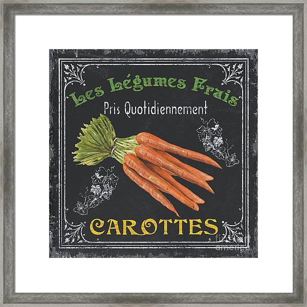 French Vegetables 4 Framed Print