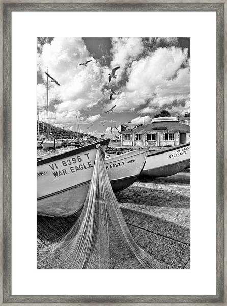 Frenchtown Framed Print