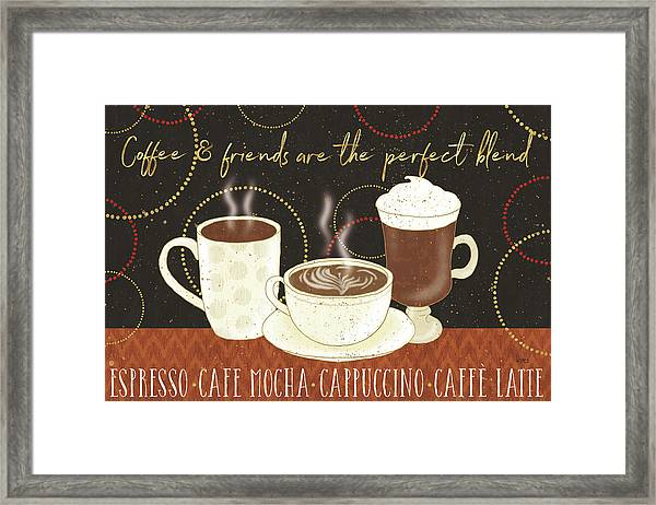 Fresh Coffee I V2 Framed Print