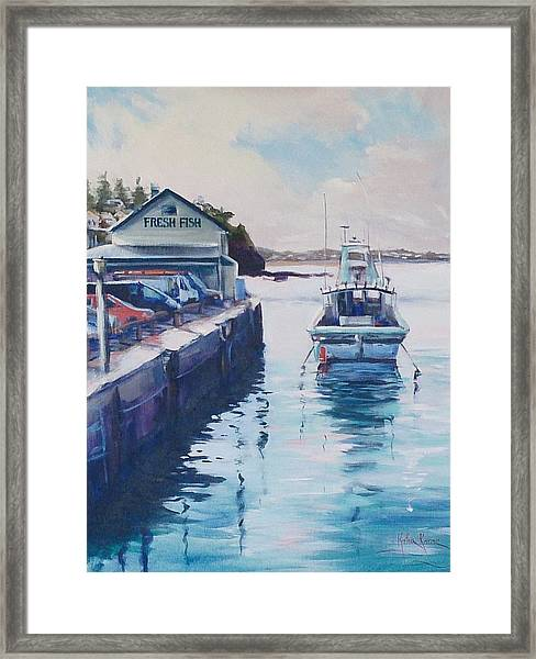 Fresh Fish For Tea Framed Print