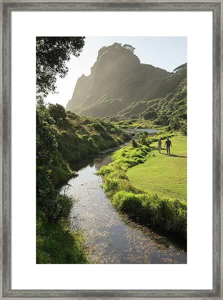 Fresh Water Stream Framed Print
