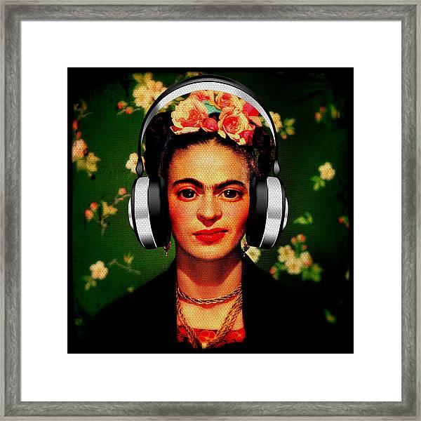 Frida Jams Framed Print