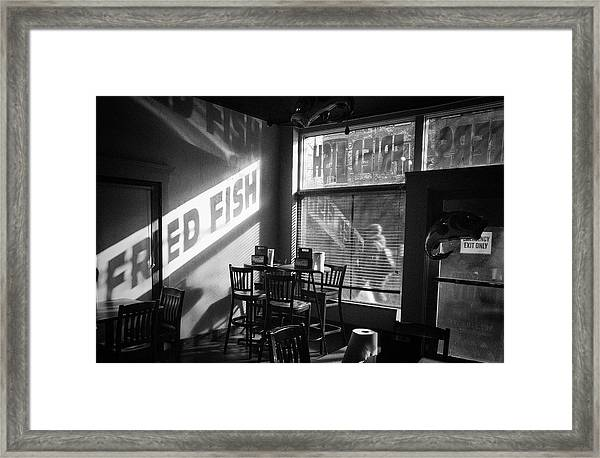 Fried Fish Framed Print by William Spangler