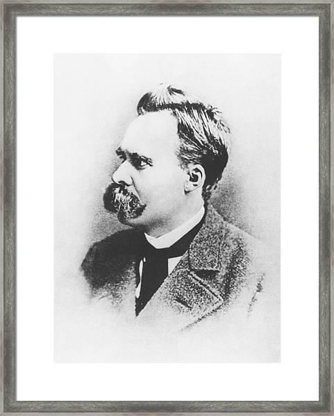 Friedrich Wilhelm Nietzsche In 1883 Framed Print