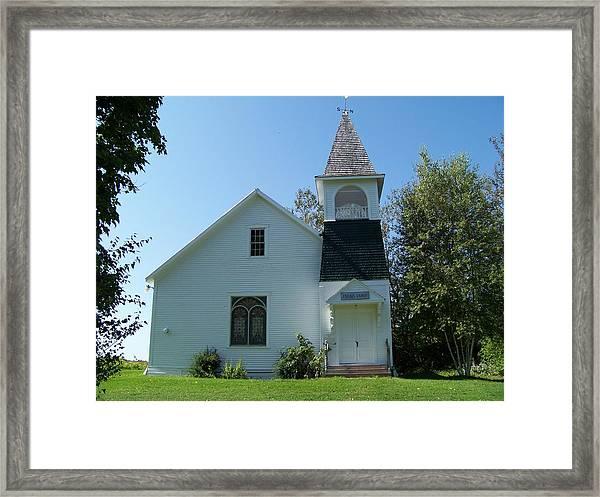 Friend's Church Framed Print