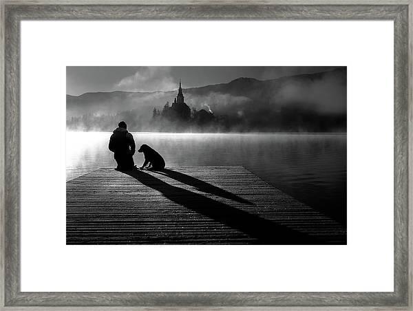 Friends Forever Framed Print by Sandi Bertoncelj