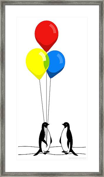 Friends With Benefits Framed Print