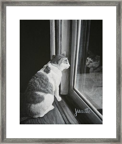 Fritz Framed Print