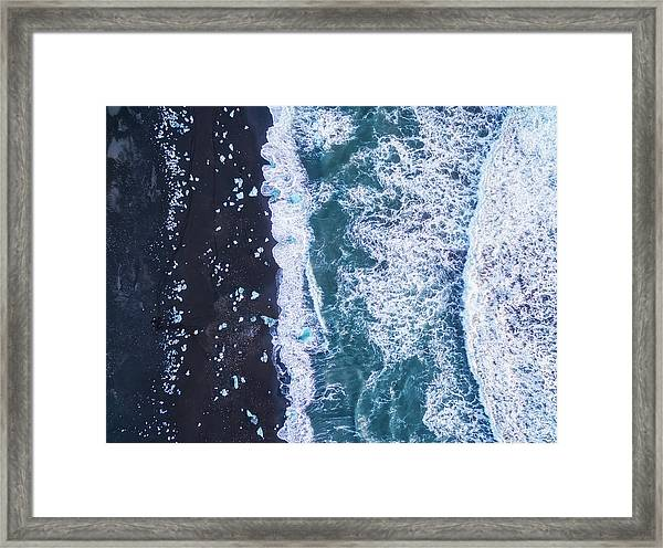 From Above Iv Framed Print